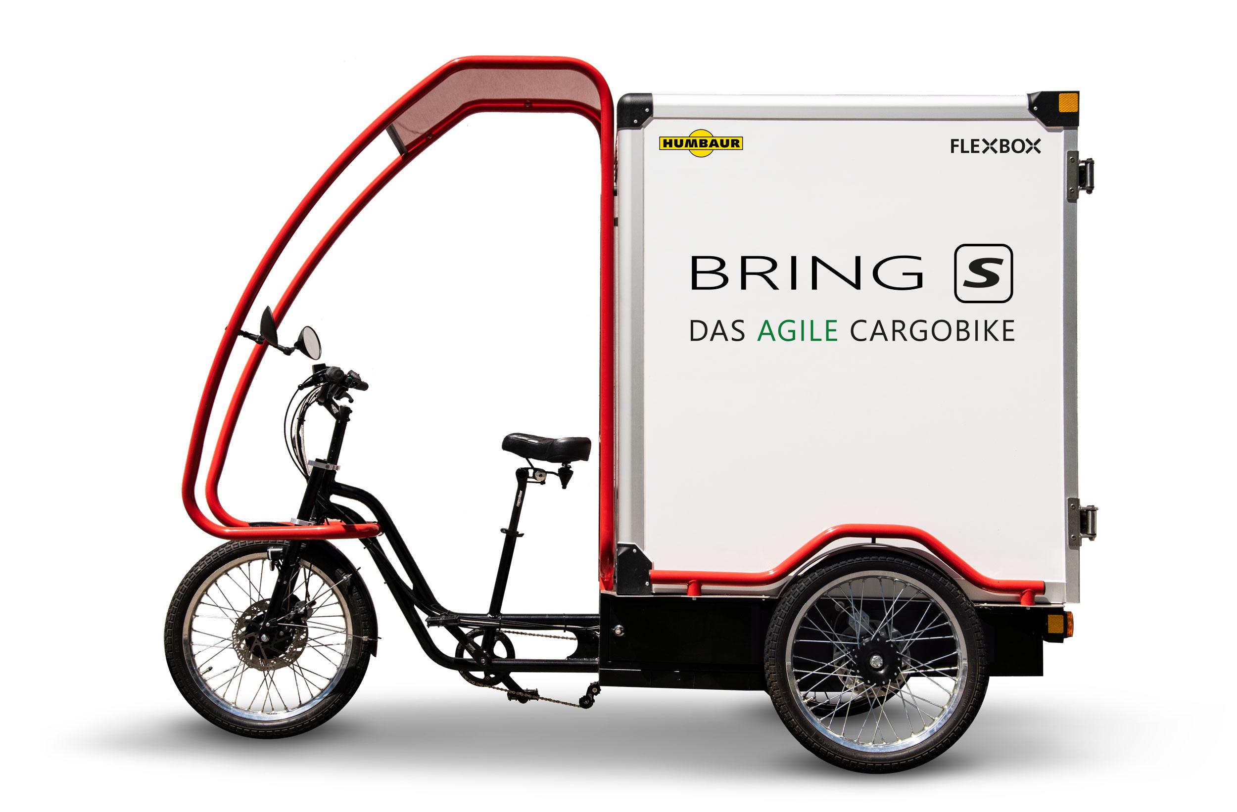 BRING S - BASIS: Pick-Up - mit Dual Motor Antriebssystem 48 V, 222 Nm, Nabenschaltung Nexus