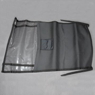 Trennnetz / -wand mit Tasche und Flyerhalter CRUISER
