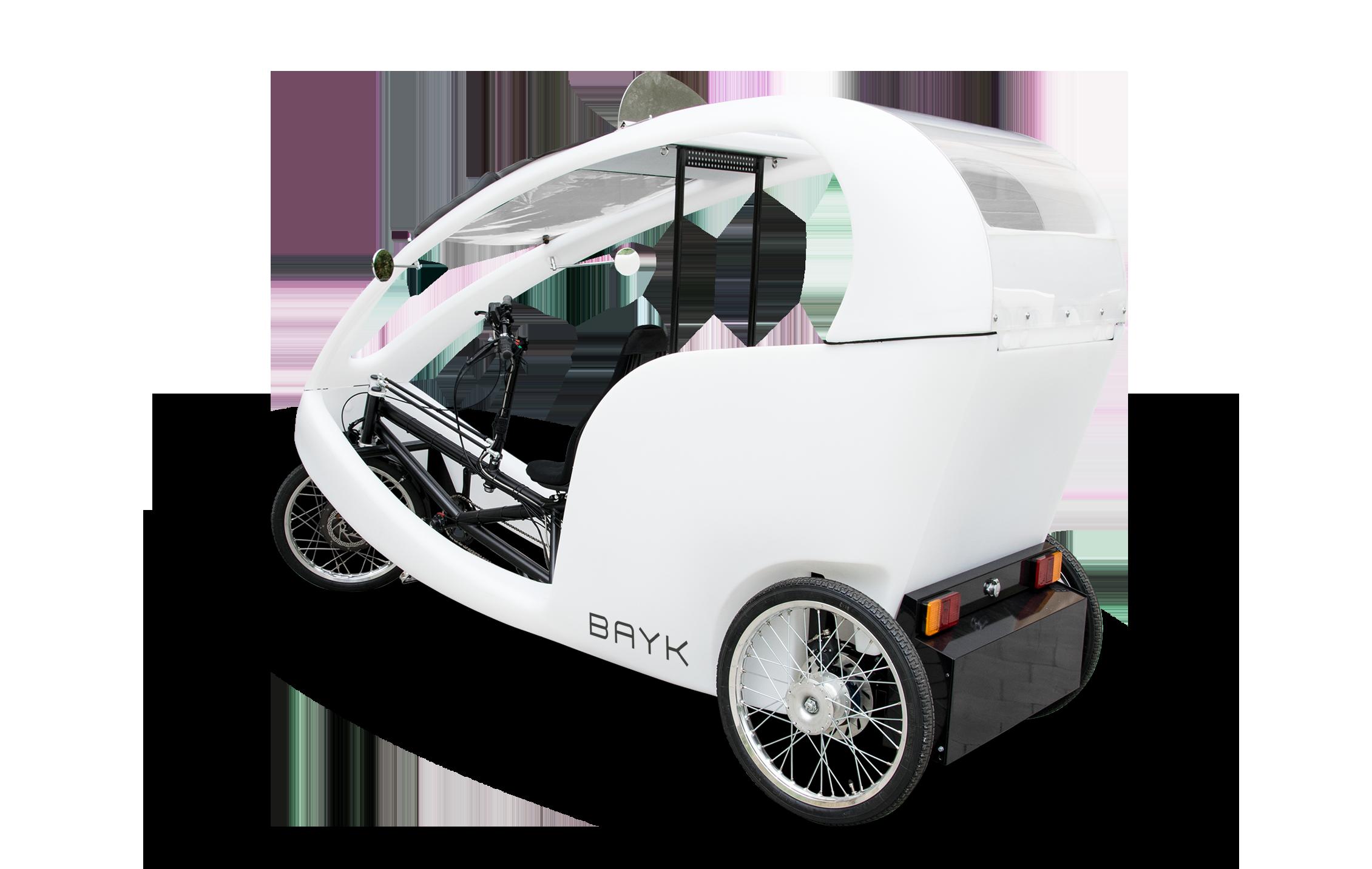 CRUISER - DAS VELOTAXI mit Dual Motor Antriebssystem 48 V, 222 Nm, Nabenschaltung Nexus