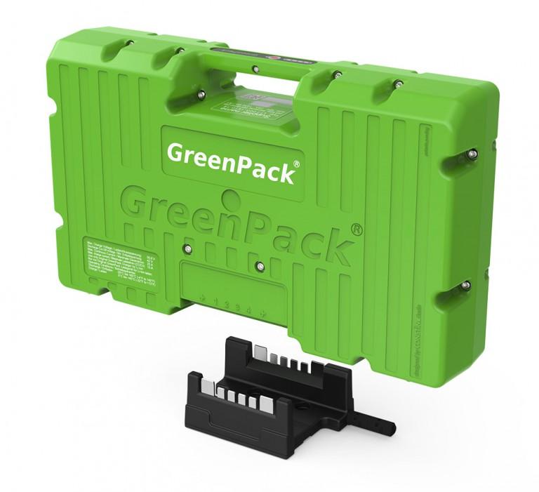 Anschlusseinheit für BATTERIESET GreenPack