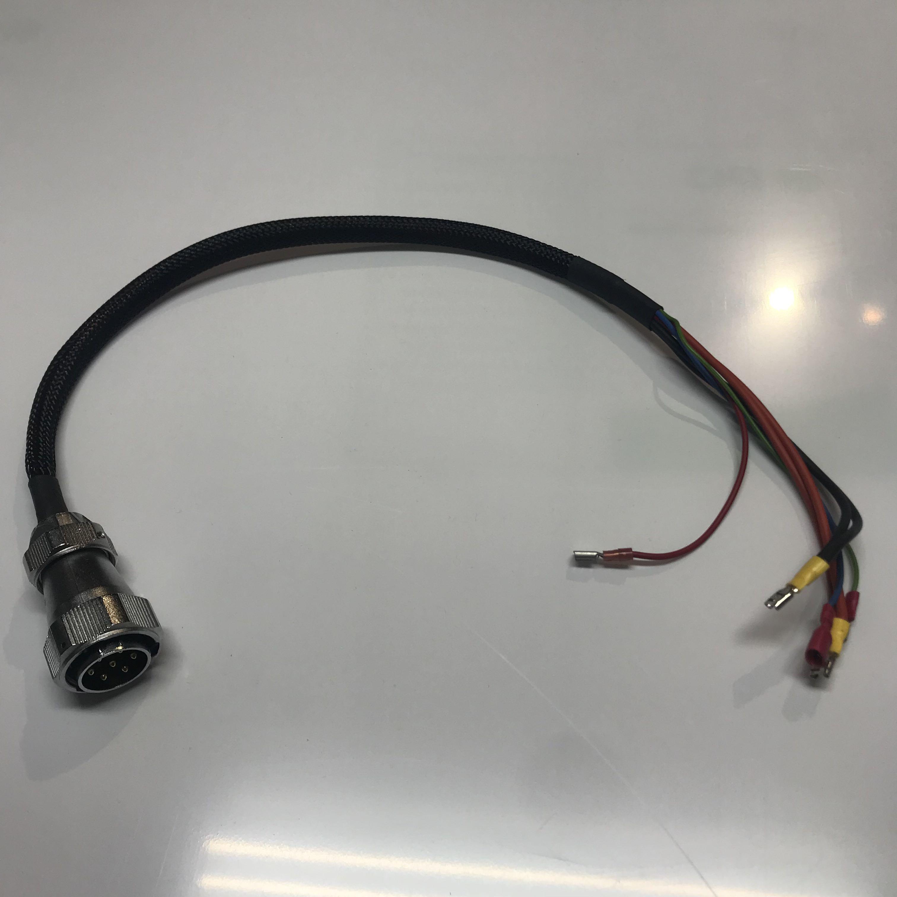 Kabelset Batteriestecker- Wago-Klemmschiene- Controller