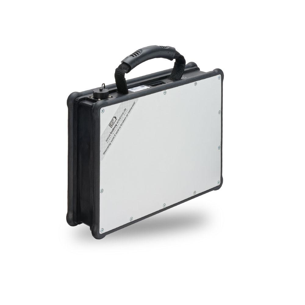 Batterie Li-Ion SBS Unipower light 1000 Wh mit Ladegerät 8 A